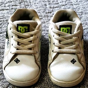 Toddlers size 8 DC shoes
